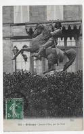 ORLEANS EN 1909 - N° 653 - JEANNE D' ARC PAR LE VEEL - CPA  VOYAGEE - Orleans