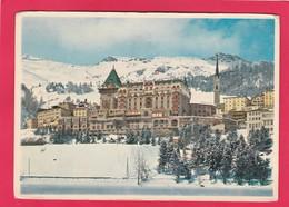 Modern Post Card Of Badrutt`s Palace Hotel,St. Moritz,Engadine, Switzerland,L61. - Switzerland
