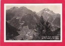 Modern Post Card Of Dorfpartie Susch,Engadin,Graubünden, Switzerland,L61. - GR Grisons