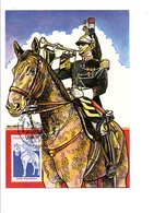 CARTE MAXIMUM 1980 GARDE REPUBLICAINE - Cartes-Maximum