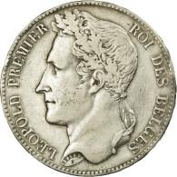 Monnaie, Belgique, Leopold I, 5 Francs, 5 Frank, 1848, TB+, Argent, KM:3.2 - 1831-1865: Léopold I