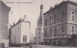 619 Walcourt Eglise Et Hotel De Ville - Walcourt