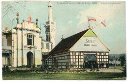 CPA - Carte Postale - Belgique - Liège Exposition - Ferme Westphalienne - 1905 (B8898) - Liege