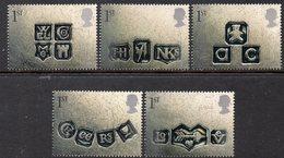 GREAT BRITAIN, 2001 GREETINGS STAMPS 5 MNH - 1952-.... (Elisabetta II)