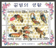 Korea - The Life Of Bee, Souvenir Sheet, MINT, 2005 - Honeybees
