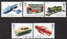 GREAT BRITAIN, 2003 CLASSIC TRANSPORT TOYS 5 MNH - 1952-.... (Elisabetta II)
