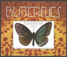 Saint Vincent And The Grenadines - Butterflies /Bequia/, Souvenir Sheet With 2 Stamps, MINT, 2011 - Butterflies