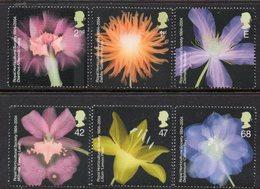 GREAT BRITAIN, 2004 FLOWERS 6 MNH - 1952-.... (Elisabetta II)