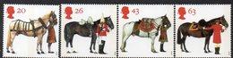 GREAT BRITAIN, 1997 QUEENS HORSES 4 MNH - 1952-.... (Elisabetta II)