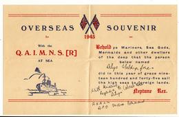 India / Military Mail / G.B. / 1945 Overseas Souvenir / Censorship - Ohne Zuordnung