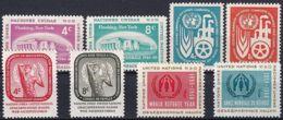 UNO NEW YORK 1959 Mi-Nr. 76-83 Kompletter Jahrgang/complete Year Set ** MNH - New York - Hoofdkwartier Van De VN