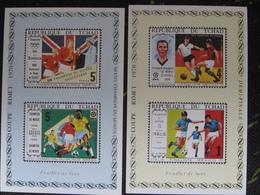 Tchad 1970 MNH Chad  2 LUX BL - Coppa Del Mondo