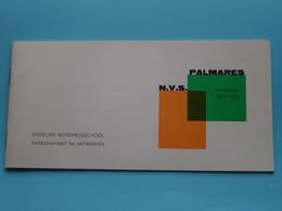 """PALMARES """" N.V.S."""" Schooljaar 1962-1963 > Stedelijke Nijverheidsschool PAARDENMARKT Antwerpen ( Zie Foto's ) Compleet ! - Diploma & School Reports"""