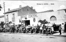 ALGERIE  -SUPERBE TENES   -  LE GARAGE COSTA   BB-904 - - Autres Villes
