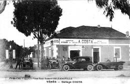 ALGERIE  -SUPERBE TENES   -  LE GARAGE COSTA   BB-905 - - Autres Villes