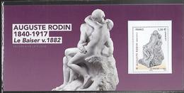 France 2017 - Souvenir Philatélique N° 137 - Auguste Rodin - (Le Baiser) ** - France