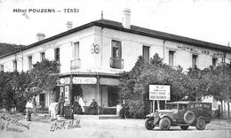 ALGERIE  -SUPERBE TENES   - L HOTEL POUZENS ET LA POMPE A ESSENCE   BB-906 - - Autres Villes