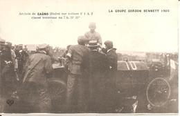 La Coupe GORDON BENNETT 1905 - Arrivée De CAGNO (Italie) Sur Voiture FIAT Classé Troisième - Sport Automobile
