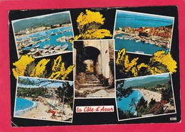 Modern Post Card Of Côte D'Azur, France,L61. - Provence-Alpes-Côte D'Azur