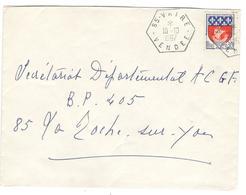 18480 - Recette Auxiliaire VAIRE - Postmark Collection (Covers)