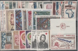 FRANCE ANNEE COMPLETE 1964 MNH Neufs - - France