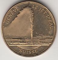 MONNAIE DE PARIS  * SUISSE   ***  GENÈVE & LE JET D'EAU - 2014  *** - Monnaie De Paris