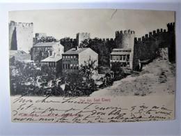 TÜRKIYE - CONSTANTINOPLE - Vue Des Sept Tours - 1902 - Turkey