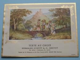TEXTE Au CHOIX Nr.23816 > 24312 Hermann Schött RHEYDT > Aug. RELIK Anvers ( Zie/voir Foto / Format +/- 13,5 X 10 Cm. ) ! - Etiquettes