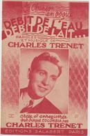 (TRE)CHARLES TRENET , Debit De L'eau , Débit De Lait - Partitions Musicales Anciennes