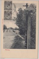 Straits Settlements - Penang Straits Photo Co. No 18 Sw AK Penang 1921 - Singapur (1959-...)