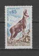 FRANCE / 1971 / Y&T N° 1675 ** : Isard - Gomme D'origine Intacte - France