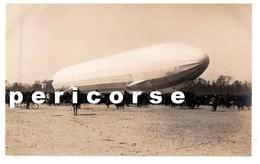 88  Saint Die  Départ  Zeppelin ( Carte Photo) - Saint Die