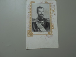 PERSONNAGES HISTORIQUES NICOLAS II EMPEREUR DE RUSSIE  PRECURSEUR - Personnages Historiques