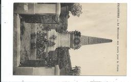 Figanieres,le Monument Aux Mort Vue Verticale - France