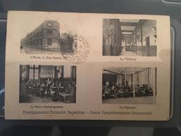 Ancienne Carte Postale - Enseignement Primaire Supérieur - Ecoles