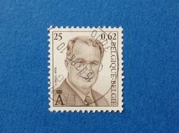 2001 BELGIO BELGIE BELGIQUE FRANCOBOLLO USATO STAMP USED Re Alberto II 0,62 - Belgio