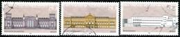 BRD - Michel 1287 / 1289 Aus Block 20 - OO Gestempelt (A) - Gebäude Der Geschichte Der BRD - Gebraucht
