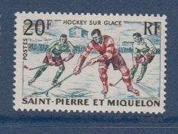 S.P.M.-1959-N°360** HOCKEY SUR GLACE - St.Pedro Y Miquelon