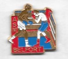 Pin' S  Ville, Sport  BOXE, Club  A.S.M  BELFORT  ( 90 ) - Boxe