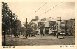 """Billancourt - Boulogne - """" Usine Automobiles RENAULT """" Place Jules Guesde - Animation - Boulogne Billancourt"""
