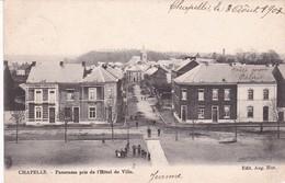 619 Chapelle Lez Herlaimont Panorama Pris De L Hotel De Ville - Chapelle-lez-Herlaimont