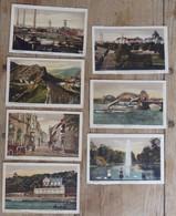 Allemagne - Lot De 7 Cartes Postales - Düsseldorf/Mülheim/Laach/Sterkrade - Colorisé - Circulé:1924 - 2 Scans - Deutschland