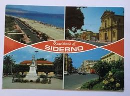 SOUVENIR DI SIDERNO  - VIAGGIATA FG - Reggio Calabria