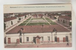 CPA MONTESSON (Yvelines) - Ecole Départementale Théophile Roussel Vue Générale Prise Du Château D'eau - Montesson