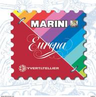 AGGIORNAMENTO MARINI VERSIONE EUROPA - SMOM - PERIODO 1992/1996  -  NUOVO - SPECIAL PRICE - Contenitore Per Francobolli
