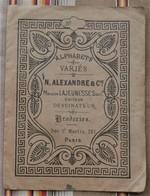 ALPHABETS VARIES N. ALEXANDRE & CIE Dessinateur Broderies Paris - Cross Stitch