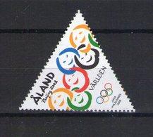 Aland. Jeux Olympiques D'été à Pékin - Aland