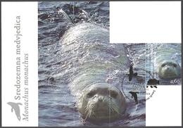 Croatia - Croatian Fauna - Mediterranean Monk Seal, Maximum Card, 2011 - Other