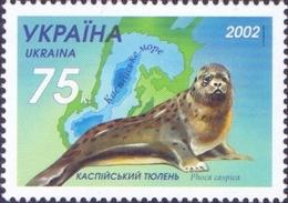 Ukraine - Caspian Seal, Stamp, MINT, 2002 - Other
