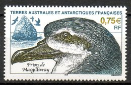 TAAF. N°408 De 2005. Prion De Macgillivray. - Faune Antarctique